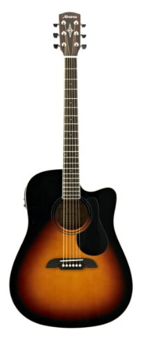 ALVAREZ 310224 RD26CESB Dreadnought Electric/Cutaway Gitarre