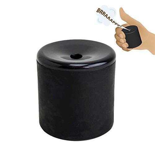 AmaMary Furzgeräusche Furz Pooter, Neuheit Gag Spielzeug Erstellen Furzen Geräusche Furz Pooter Gag Witz Maschine Party (1 Stück, schwarz)