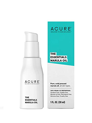 Acure The Essentials Moroccan Argan Oil | 100% Vegan | Versatile - For Any Skin & Hair Care Regimen | Pure, Cold Pressed & Rich in Vitamin E - Hydrates & Restores | 1 Fl Oz