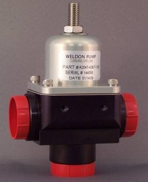 Weldon Racing A2047 Series High Flow Bypass Fuel Pressure Regulator (-12 Inlet and -12 Outlet)