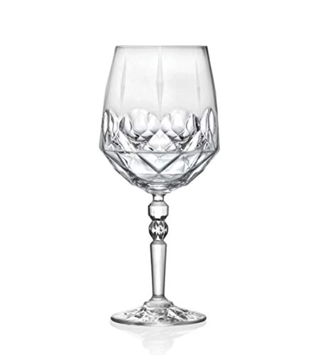 Giosal Set Bicchieri Calici Alkemist Cocktail 67cl 6 Pezzi Cristallo Rcr