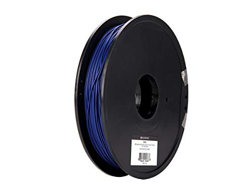 Monoprice MP Specialty 3D Printer Filament Flexible TPE Blue 1.75 0.5kg/Spool