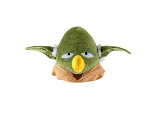 "Angry Birds Star Wars Yoda 16"" Plush with Sound"