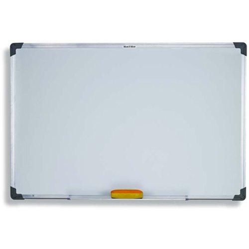 Whiteboard Magnettafel Weißwandtafel Memoboard Pinnwand 80x60cm Aluminiumrahmen magnetisch büroMi®