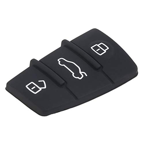 Audi A4 Estate 3 Button FLIP KEY CASE avec Clé Lame Coupe pour Votre Voiture-garanti!