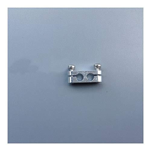 XUSUYUNCHUANG 2pcs modelo de gasolina del carburador Barco aguja de bloqueo anti-aflojando la abrazadera del clip de aluminio de piezas de aleación for RC Avión aceite Pin sujetador Accesorios de barc