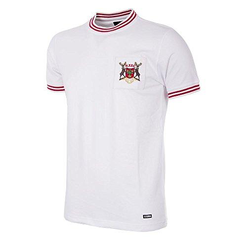 Copa Nottingham Forest Retro Trikot 1966/1967 Auswärts weiß, XL