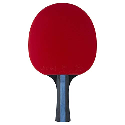STIGA 3-Star Future Palas de Ping Pong, Unisex-Adult, Black Red, One Size
