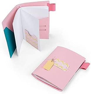 Sizzix 663626 Bigz XL Die Traveller's Notebook Cover by Katelyn Lizardi, Multicolor