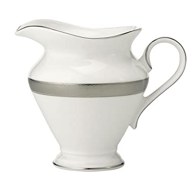 Waterford China New Grange Platinum Creamer