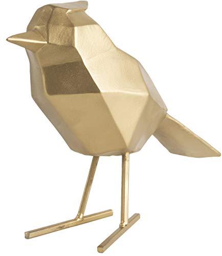 Present Time - Statue Oiseau doré Large Origami