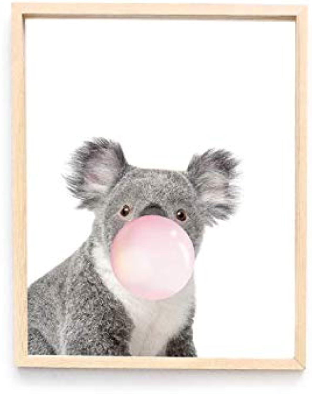 Sin impuestos DMMW Pintura Decorativa acrílica acrílica acrílica Transparente Estilo nórdico salón Animal Koala Pintura (Talla   M)  Envíos y devoluciones gratis.