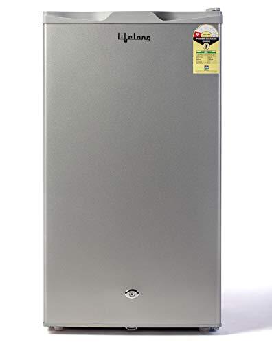 Lifelong 92 L Direct Cool Single Door Refrigerator (LLMB92, Silver)