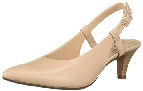 Price comparison product image CLARKS Women's Linvale Loop Pump,  Blush Leather,  065 W US