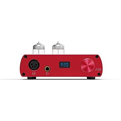 LOXJIE P20 Full Balance Tube Amplifier Headphone Power Amplifier (Red) by LOXJIE Audio