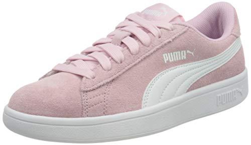 PUMA Smash v2 SD Jr, Baskets, Rose (Pink Lady White), 37 EU