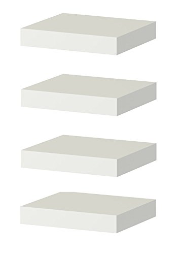 Ikea Floating Wall Lack Shelf (4, White)