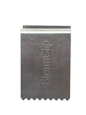 HurricaneClip - StormClip - Premium Heavy Duty 1/2 Inch Stainless or Carbon Steel Hurricane Clips for use securing Plywood Hurricane shutters   Hurricane Panel Clips to Secure Window Plywood