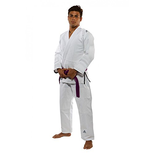 Adidas jj350Challenge Kids/GI/Kimono/Tamaño Selección/Selección de Colores, Blanco