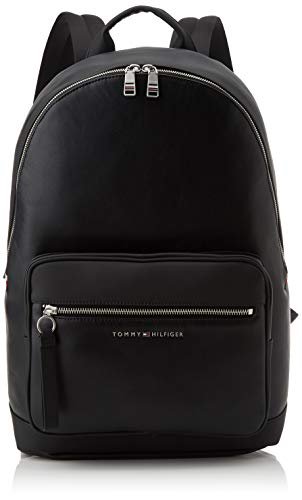 Tommy Hilfiger - Th Metro Backpack, Shoppers y bolsos de hombro Hombre, Negro (Black), 0.1x0.1x0.1 cm (W x H L)
