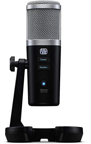 PreSonus Revelator Microfono a condensatore USB con software per...