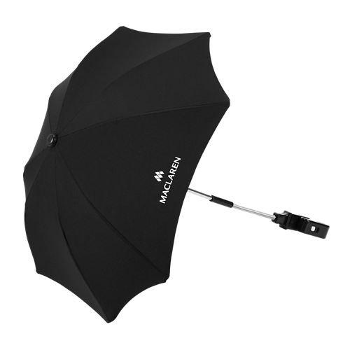 Sombrilla Maclaren - Accesorio de Silla de paseo perfecta para protegerse de los fuertes rayos del sol. El protector solar UPF 50+ se ajusta al marco de todos los Maclarens y mayoría de las marcas