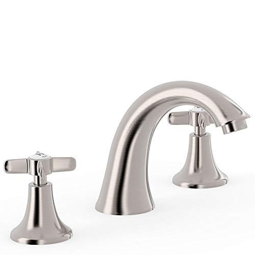 Bimando lavabo Tres-Clasic Color, instalación libre, volante, 13,4 x 25 x 12 centímetros, color acero (Referencia: 24210601AC)