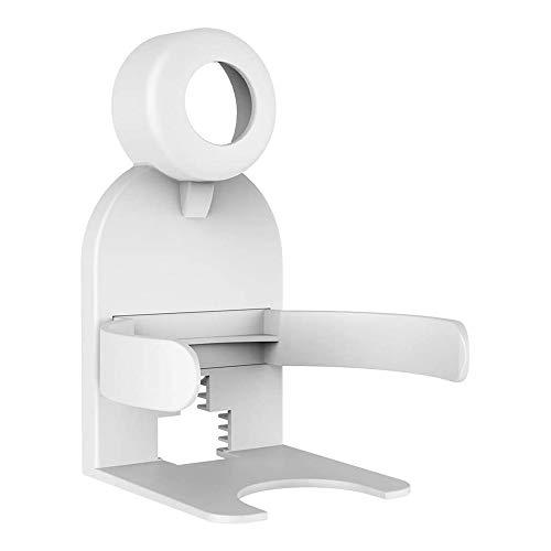 Motyy Soporte de Montaje en Pared de Salida Soporte de Montaje Estuche Compacto Soporte de Audio para Nest WiFi Router AC2200 Blanco