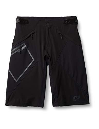 O'Neal | Mountainbike-Hose | MTB Mountainbike DH Downhill FR Freeride | Wasserdichtes, Atmungsaktives Material, Allwetter-Shorts | All Mountain Mud Shorts | Erwachsene | Schwarz | Größe 34/50