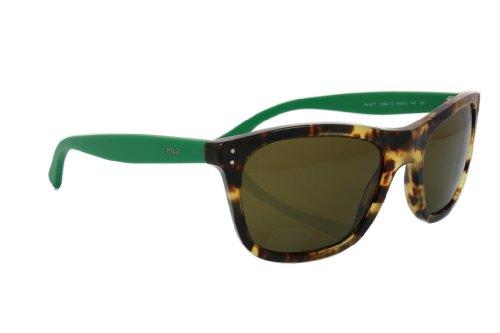 Polo Ralph Lauren PH4071 Gafas de Sol, Marrón (Havana 538473), Talla única (Talla del Fabricante: One Size) para Hombre