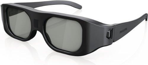 Philips PTA507/00 3D Max Aktiv-Brille (Umschaltmöglichkeit 2-Spieler Fullscreen Gaming)