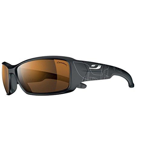 Julbo Run Rechteckig Sonnenbrille, schwarz