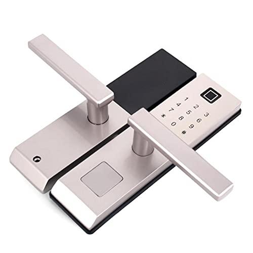 Seguridad Cerradura de puerta inteligente Tarjeta antirrobo Cerradura de puerta Cerradura de puerta de seguridad Cerradura de puerta con huella digital Electrónica inteligente para hotel