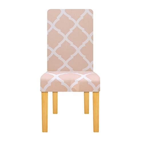 Tayinio Geometrische stoelhoes, stretch elastische hoezen, universele maat, bureaustoel, meubels, decoratie, Kerstmis