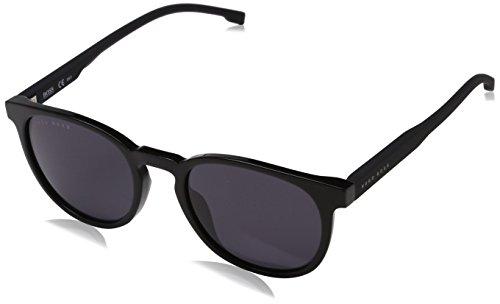 Hugo Boss Herren BOSS 0922/S IR 807 51 Sonnenbrille, Schwarz (Black/Gym Grey)
