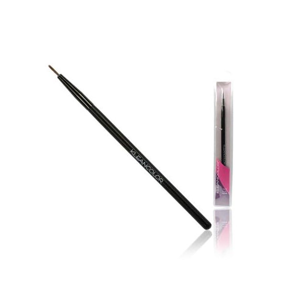 顕現サーバ要求する(6 Pack) KLEANCOLOR Precise Eyeliner Brush (並行輸入品)