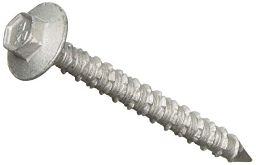 ITW 24326 Tapcon Maxiset 1/4 in. x 2-1/4 in. Hex Head Concrete Anchors Silver, 50-per Pack