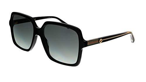 Gucci gafa de sol GG0375S negro, grey gradient 001
