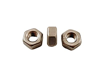 """Stainless 1/4-20 Hex Head Bolts (1/2"""" To 1-1/2"""" Length in Listing), 304 Stainless Steel, 100 pieces"""