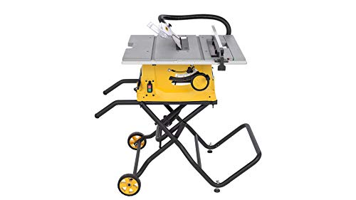 POWX07598 Powerplus Hochwertige fahrbare Tischkreissäge Kreissäge Gehrungssäge Säge Tischsäge 2000 Watt