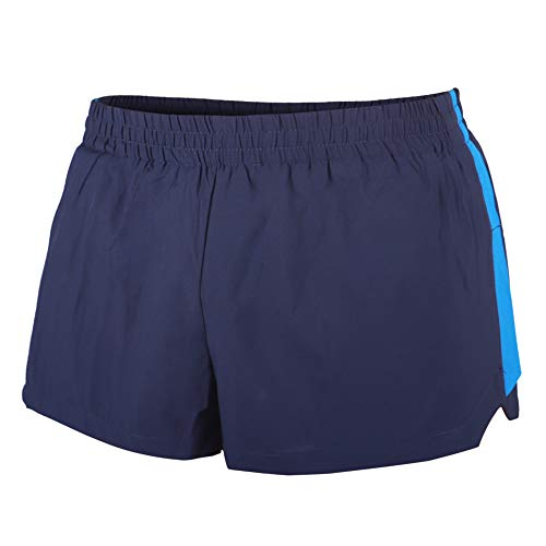 Alivebody Uomo Pantaloncini da Corsa Sportivi Corti da Corsa Bodybuilding Palestra Shorts Sportivi Blu Navy Large