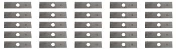 USA Mower Blades 25 8 x2  Unpainted Edger Blades for Echo 720237001 RYOBI 613223 Husqvarna 578 39 28-02 601 00 24-54