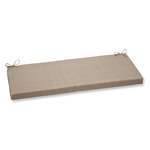 Pillow Perfect Monti Bench Cushion, Taupe,45 x 2.5x x 18 inches