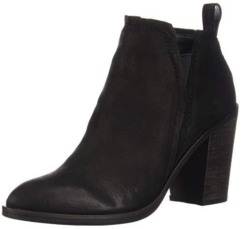 Dolce Vita Women's Simone Ankle Boot, Black Nubuck, 10 M US