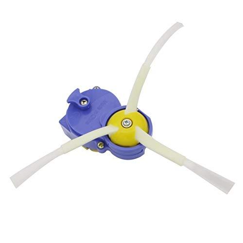 XIAOFANG Fangxia Store Cepillo Lateral y Aumentada de la Rueda del Motor del Cepillo en Forma for el iRobot Roomba 700 560 500 600 570 650 780 880 Serie Aspirador Robot Parte de Ruedas (Color : Blue)