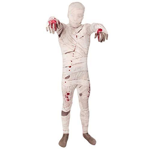Momia - Morphsuit para Niños - Niños Disfraz - Medium - Edad 8-10 (119-136 cm)