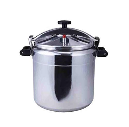 Cuisinière à pression, autocuiseur en alliage d'aluminium, autocuiseur à grande capacité anti-explosion, autocuiseur à gaz anti-explosion, adapté aux restaurants à la maison, etc. 3L-80L