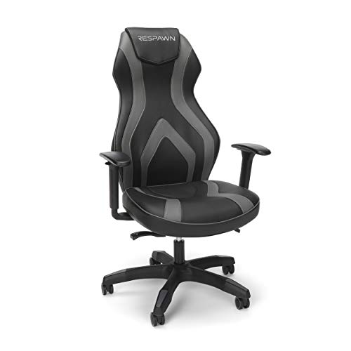 RESPAWN Sidewinder Gaming Chair, PU Leather, Graphite Gray