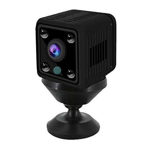 Mini cámara inalámbrica 4x Zoom 1080P Mini cámara 1080P Sensor WIFI Visión Nocturna Dectección de Movimiento Pequeña Videocámara Inalámbrica Cámara de Vigilancia