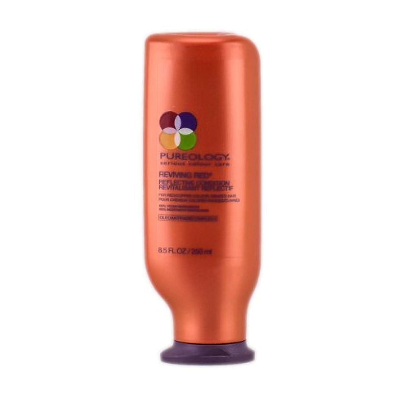 ピュアロジー Reviving Red Reflective Condition (For Red/Copper Colour-Treated Hair) 250ml/8.5oz並行輸入品